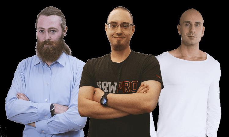 ExoKrypt - Das Team - Tobias Kohlhuber Der Visionär - Stefan Kleeberger Der Analyst - Erik Kunz Der Kreative